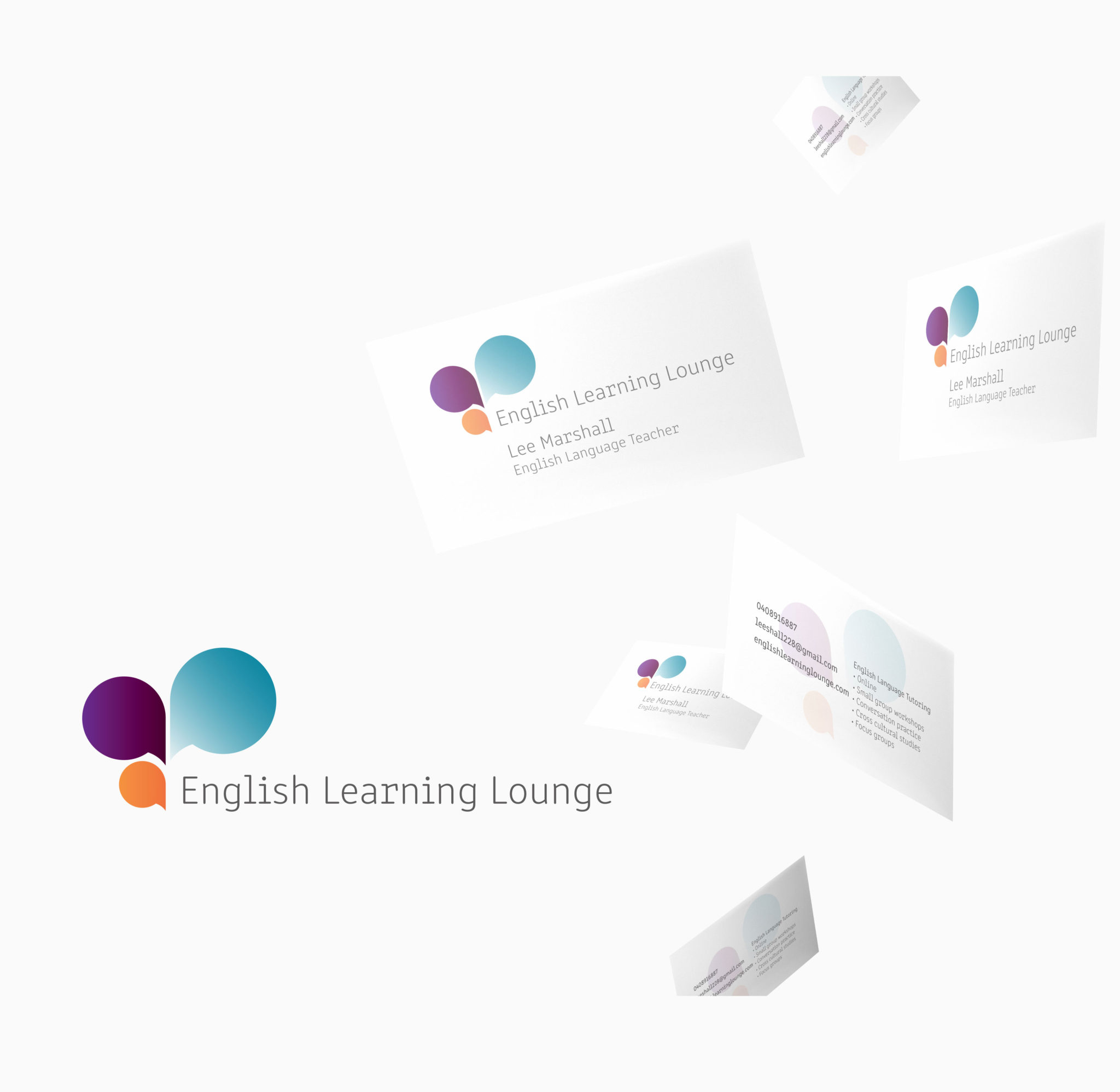 Logo Design For English Learning Lounge